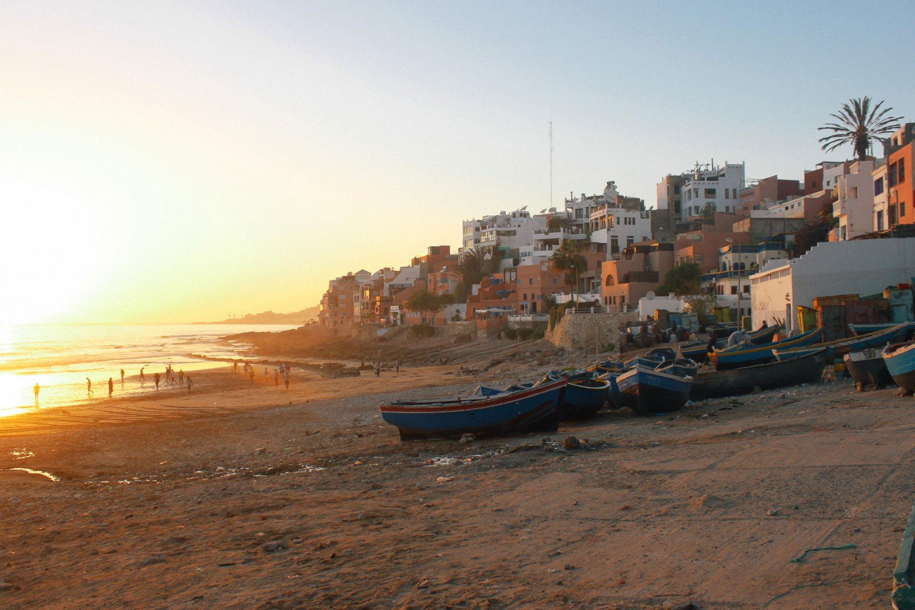 Marokko Strandansicht
