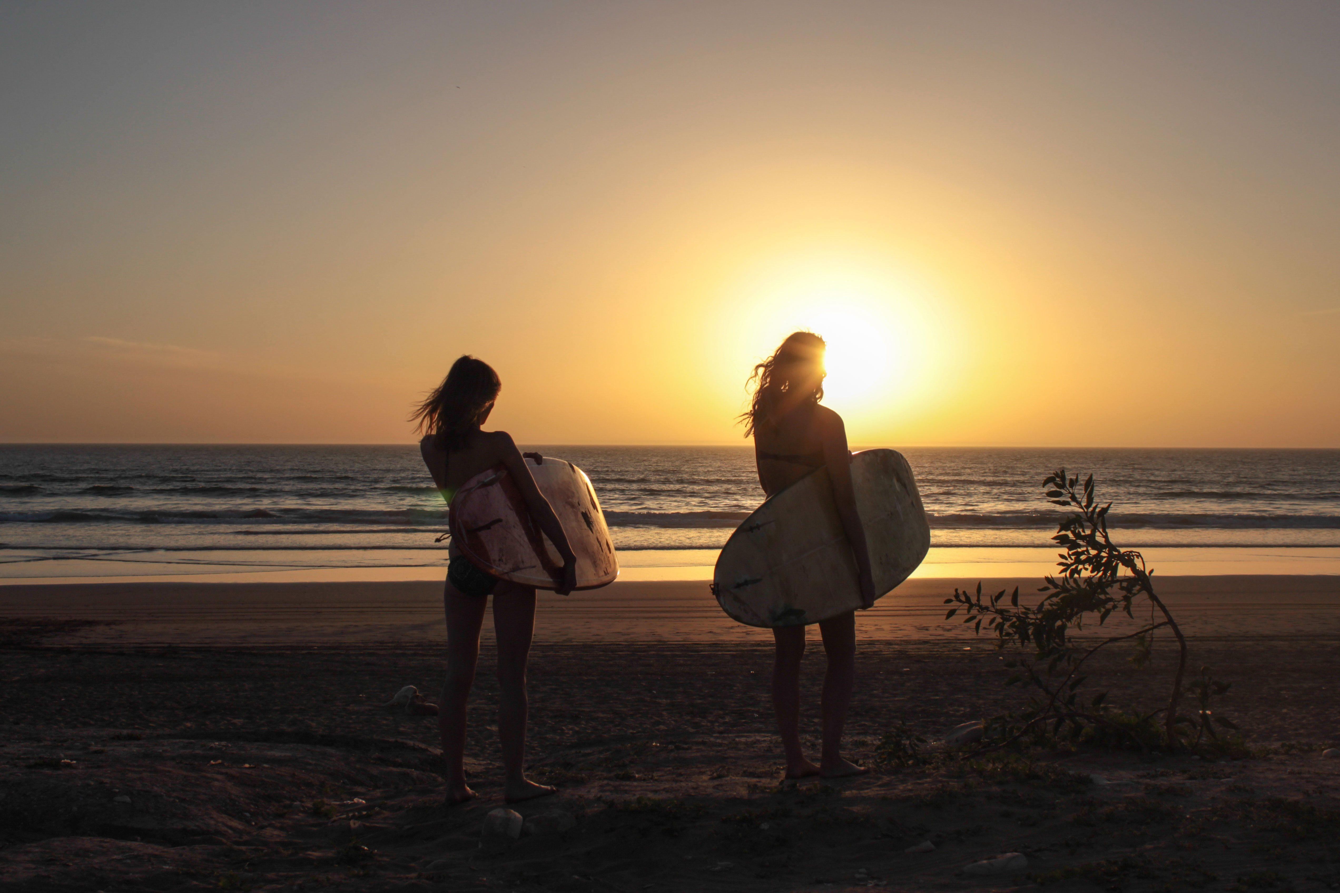 Surfcamp Marokko Abendstimmung