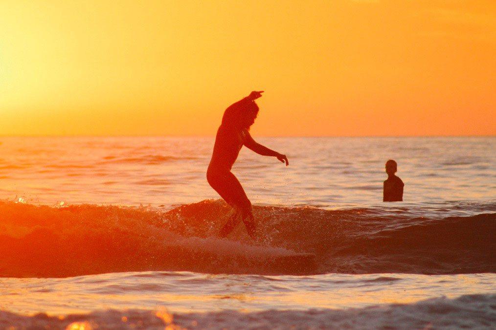 Surfen im Camp Marokko
